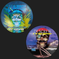 "DJ Screw - ""All Screwed Up"" (Bumper Sticker Set)[5""circle]"