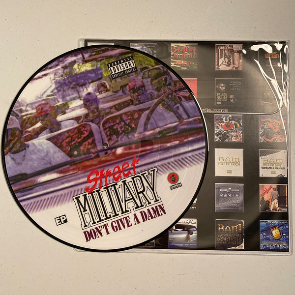 Street Military - Don't Give A Damn (Vinyl Picture Disc)