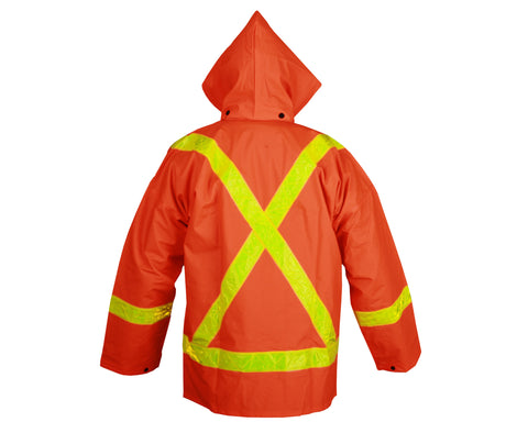 Viking 2110FR Open Road Fire Resistant Hi-Viz Orange 3 Piece Safety Suit