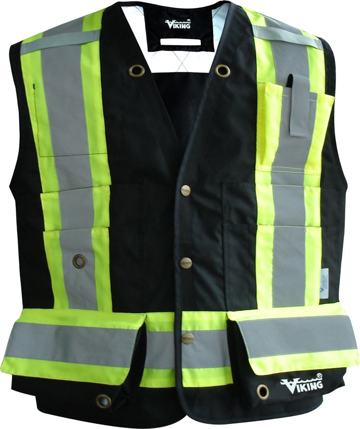 Viking 3995FR Professional Journeyman Fire Resistant Surveyor Vest