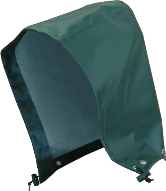 Viking 4112 Journeyman Green Rain Jacket Hood