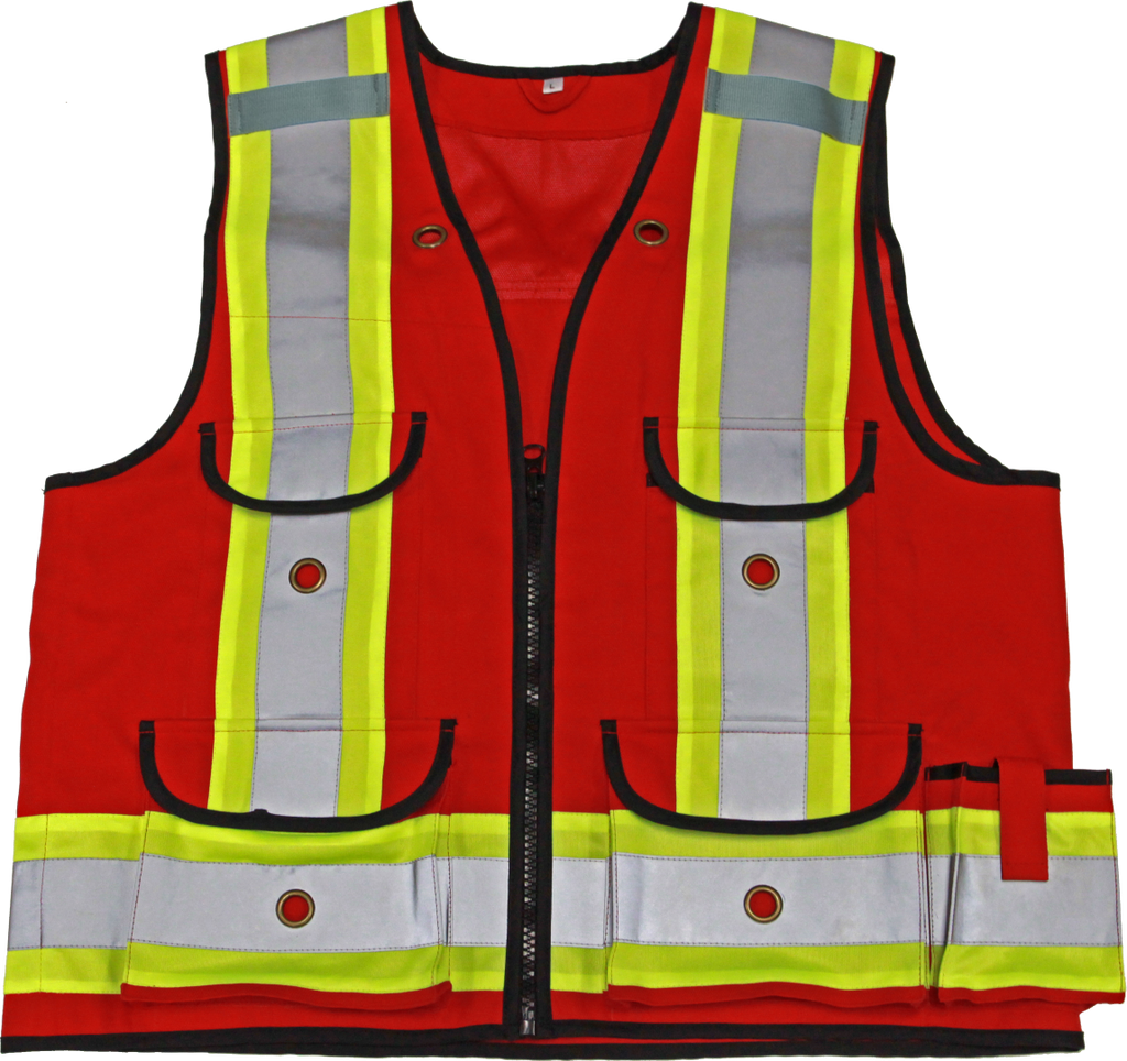 Viking 4915R Professional All Trades Surveyor Safety Vest