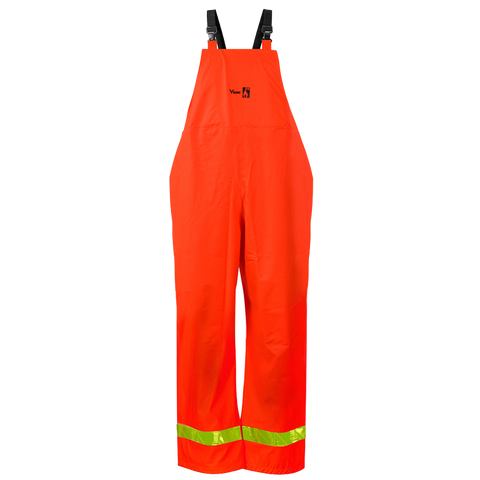 Viking 6050FRP Hi-Viz Orange Fire Resistant PU Bib Pant