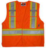 Viking U6135 Solid 5 Point Tear-Away Safety Vest