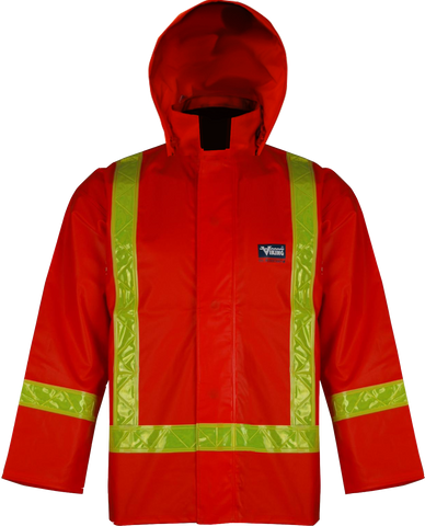 Viking 6310J Journeyman Fire Resistant Hi-Viz Orange Safety Jacket