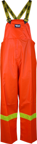 Viking 6310P Journeyman Fire Resistant Hi-Viz Orange Safety Bib Pants