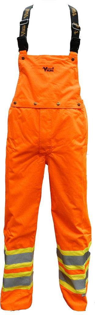 Viking 6400P Journeyman 300D Insulated Detachable Bib Safety Pants