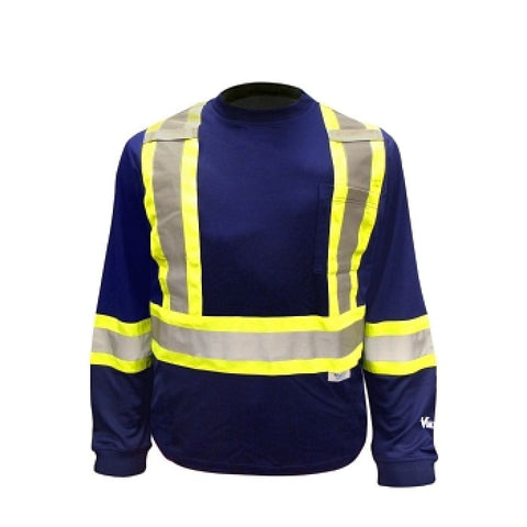 Viking 6015 Hi-Viz Long Sleeve T-Shirt with 50+ UPF Sun Protection, EA
