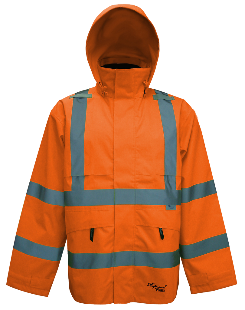 Viking D6329J Professional Journeyman Safety Jacket with Hood