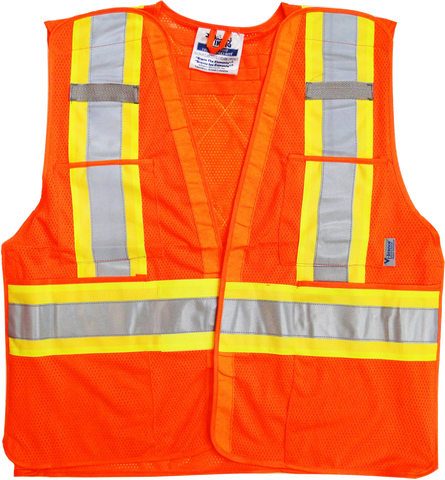 Viking U6125 Mesh 5 Point Tear-Away Safety Vest
