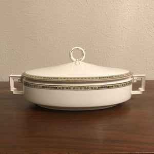 H & Co Selb Bavaria Heinrich & Co Imperial Covered Vegetable Bowl With Lid Serving Dish Vintage