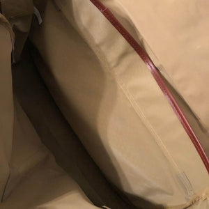 Vintage New Ralph Lauren Canvas & Leather Brown and Camel Messenger Bag