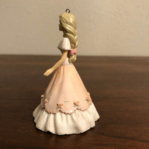 Barbie in Pink Dress Ball Gown 1997 Christmas Ornament