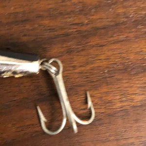 Vintage Fishing Cordell Redfin Bait Lure Silver Fish 5""