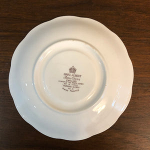 Royal Albert Morning Glory British English Saucer 5.5""