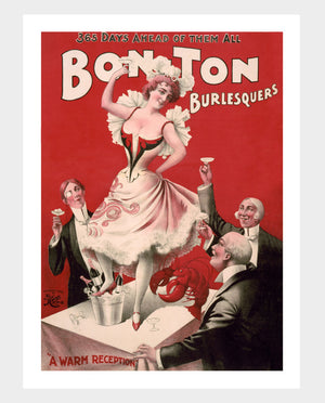 "Bon Ton Burlesquers ""A Warm Reception"" Digital Download"