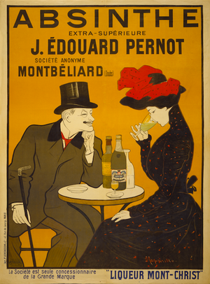 Absinthe Extra-Supérieure French Spirits Yellow Booze Advertising Digital Download