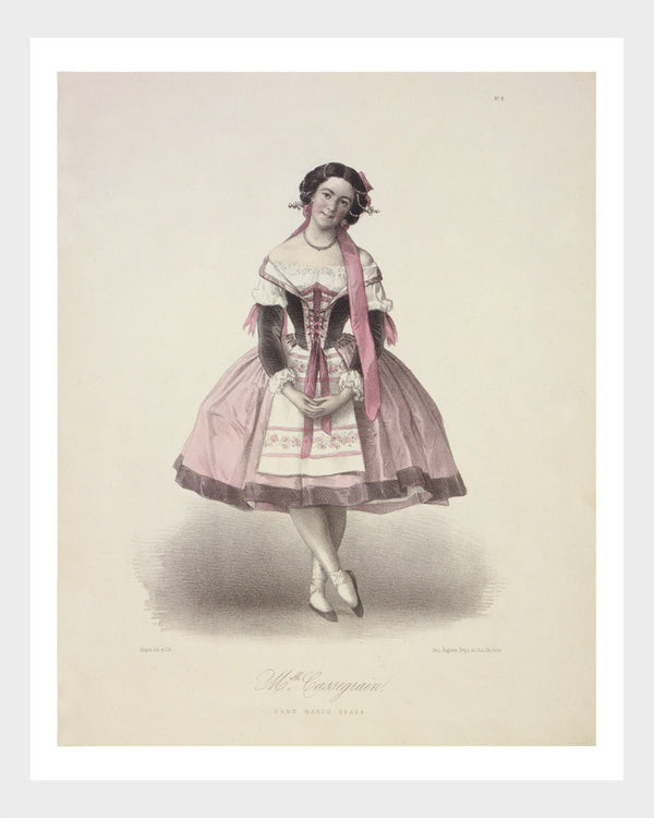 French l'Opéra Ballerina Print 1/6 Digital Download