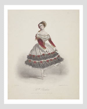 French l'Opéra Ballerina Print 2/6 Digital Download