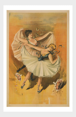 Ballet Dancers Poster Digital Download
