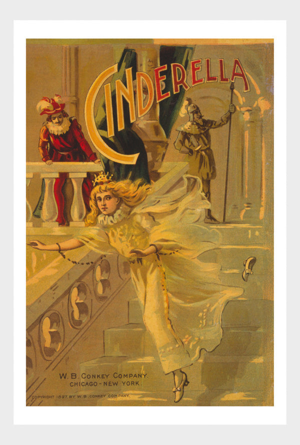 Cinderella Play Poster Digital Download