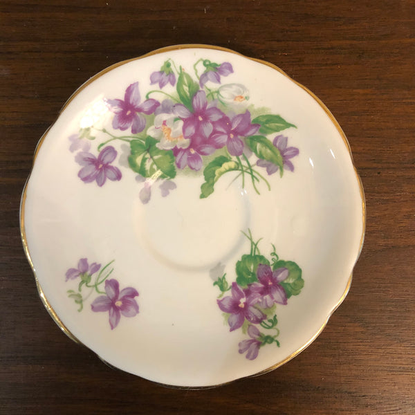 Gladstone Bone China British English Saucer 5.5""
