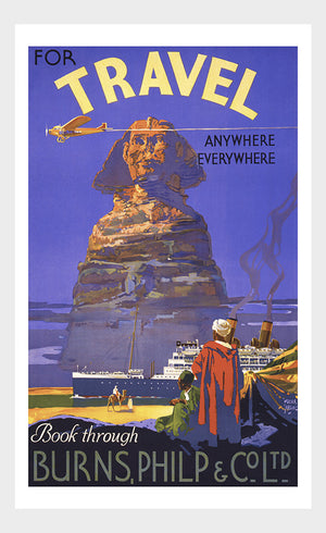 Travel To Egypt Poster Digital Download