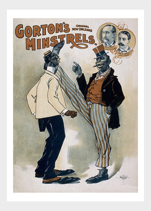 Gorton's Minstrels Theater I Digital Download