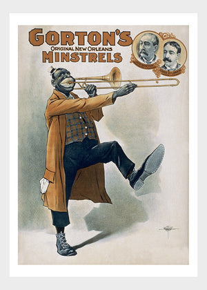 Gorton's Minstreals New Orleans Theater Trombone III Digital Download