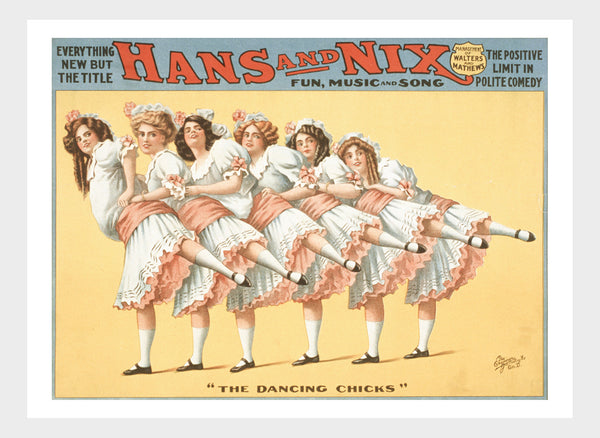 "Hans & Nix Show Girls ""The Dancing Chicks"" Digital Download"