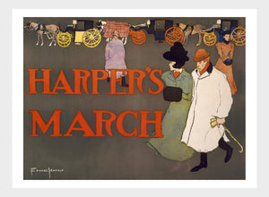 Harper's Magazine March Cover Digital Download