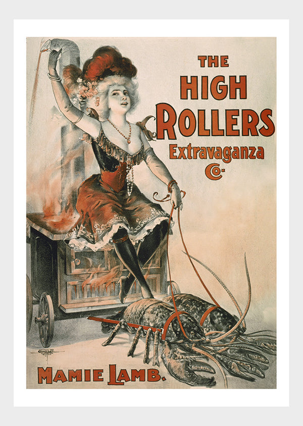 High Rollers Burlesque Mamie Lamb & Lobsters Digital Download