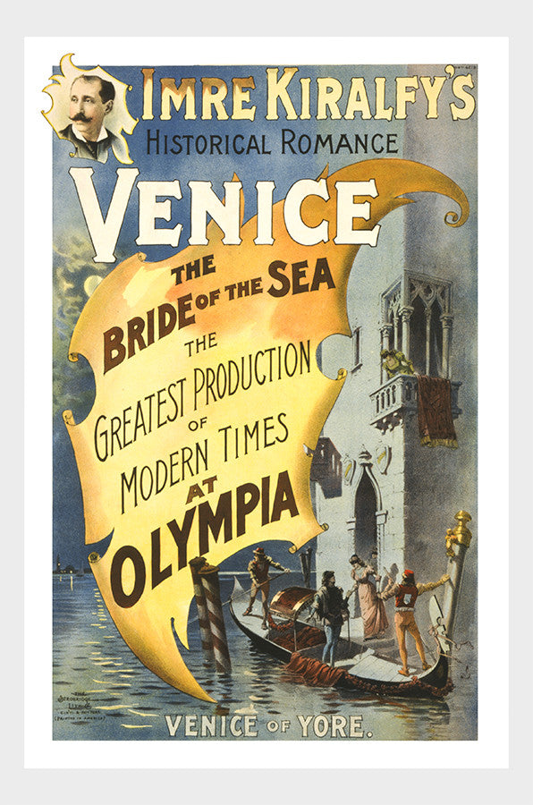 Imre Kiralfy's Historical Romance Venice I Digital Download