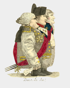 In the Bag : Napoléon Political Cartoon Digital Download