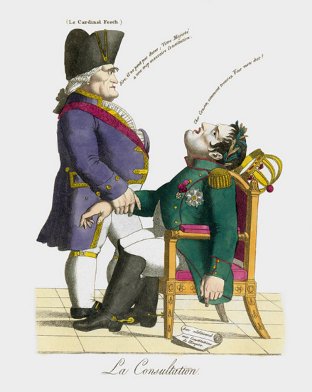 The Consultation: Napoleon French Political Cartoon Digital Download