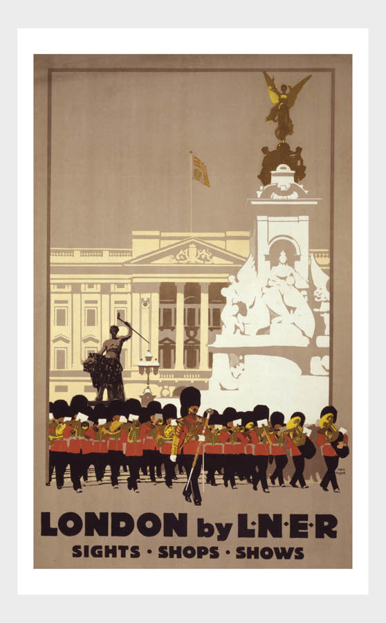 London By L.N.E.R Travel Poster Digital Download