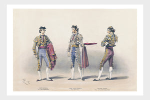 Spanish Matadors Digital Download