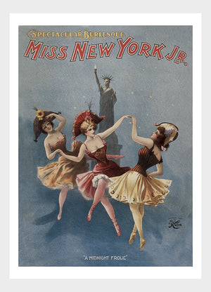 Burlesque Miss New York Jr Digital Download
