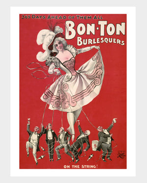 "Bon Ton Burlesquers ""On A String"" Digital Download"