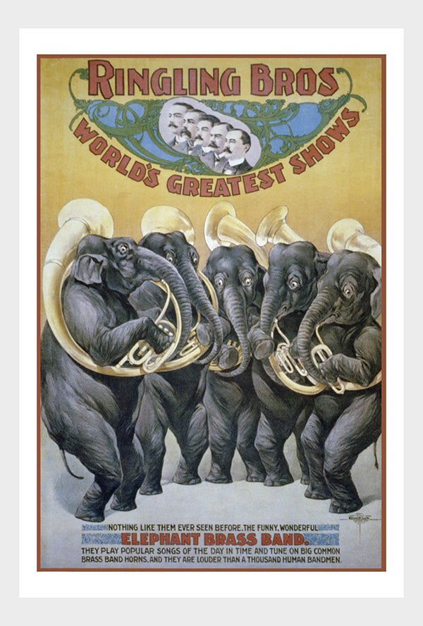 Ringling Brothers Elephant Brass Band Digital Download