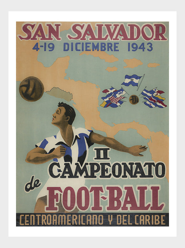 San Salvador Football Competition Poster Digital Download