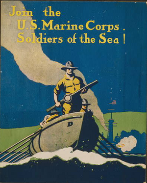 WWI  US Marine Corps Poster Digital Download