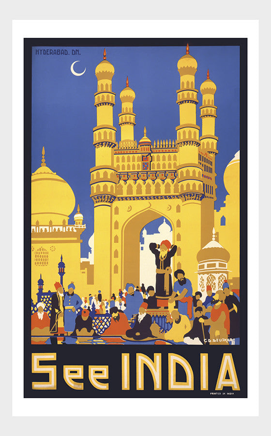 See India Travel Poster Digital Download