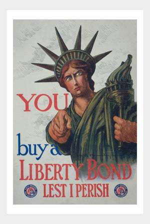 WWI Liberty Bond War Poster 02 Military Digital Download