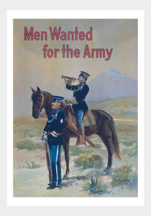 WWI Wanted For The Army 03 War Poster Military Digital Download