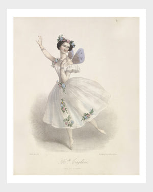 French l'Opéra Ballerina Print 4/6 Digital Download