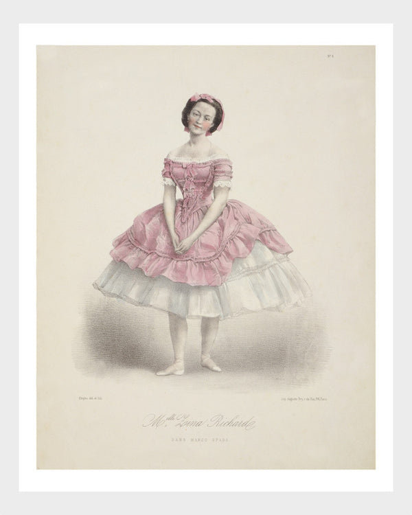 French l'Opéra Ballerina Print 3/6 Digital Download