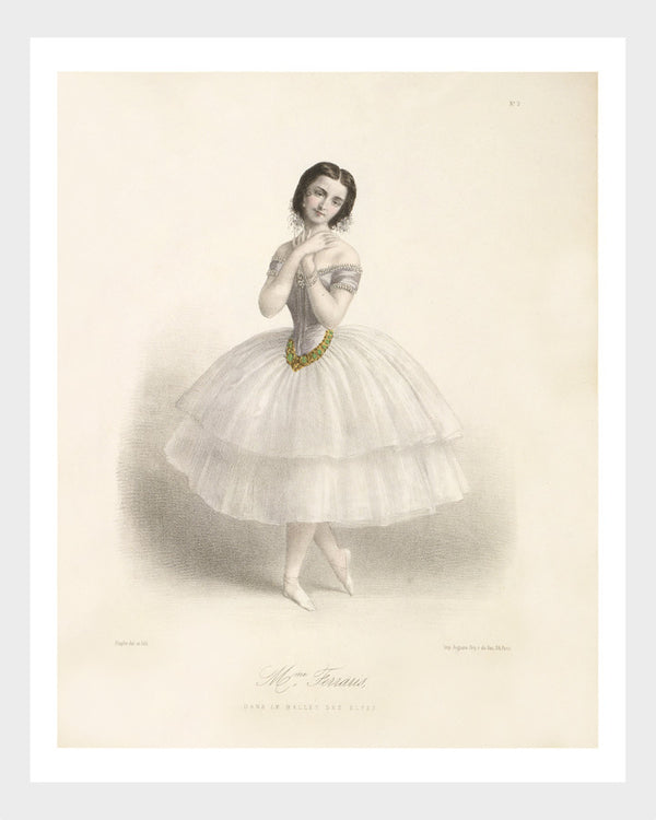 French l'Opéra Ballerina Print 6/6 Digital Download