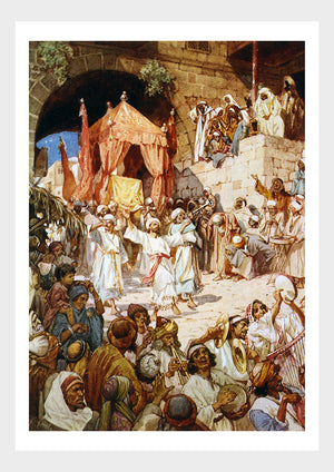 David With The Ark In Jerusalem Religious Bible Digital Download