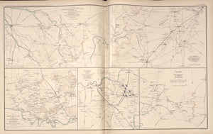 "American Civil War Map: ""Readyville, Bradyville, Woodbury, Shelbyville, Tennessee"" Digital Download"